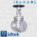 Importar y distribuir la válvula industrial de vástago industrial de tornillo Didtek para la energía nuclear