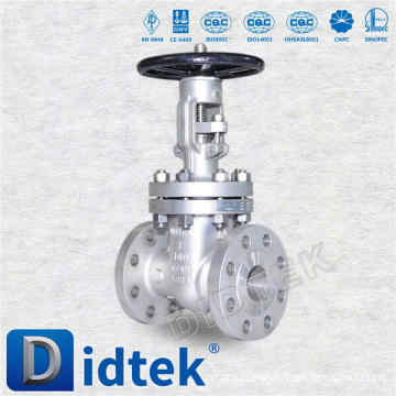 Import & Distribute Didtek rising stem industrial gate valve for Nuclear Power
