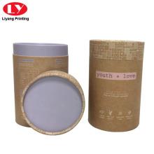 Round Kraft Paper Tea Gift Box
