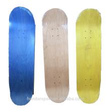 Canadá maple venta al por mayor chapa de arce para planchas de skate para el precio