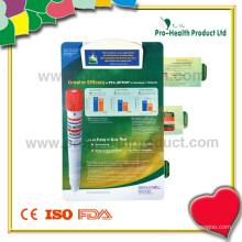 Prancheta de plástico do hospital com 3 cartões de retirada