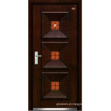 Porta de madeira de aço (LT-309)