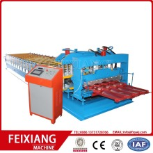 Glasad Aluminium Takpanel Roll Forming Machine