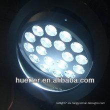 18w al aire libre arriba y abajo de la luz de la pared 110v 220v 100-240v 18 leds