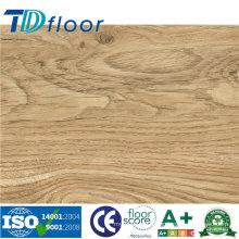Nouveau plancher en bois de vinyle de PVC de luxe de grain de bois d'intérieur