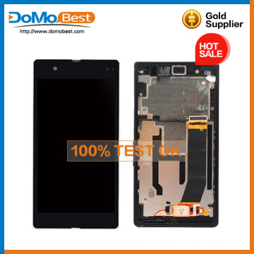 Lowest price for Sony xperia Z L36H Full original LCD Touch Screen Digitizer Frame Assembly