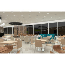 High Quality Restaurant Set Furniture for Package Solution (FOH-BCS01)