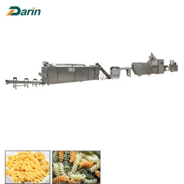 Macaroni Pasta Equipment / Single Screw Extruder Line