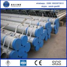 Vente en gros de tuyaux en acier pré-galvanisé en Chine