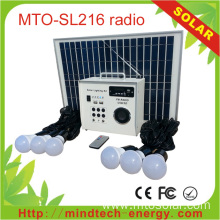 Photovoltaic Radio Solar Generator Lighting System
