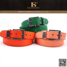 100% Pu coloridas mujeres de moda cinturones