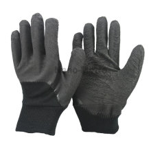 Luvas protetoras da construção da borracha do inverno de NMSAFETY para a proteção do sol