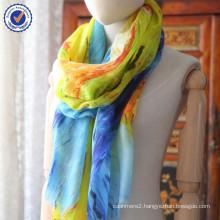 2015 new cashmere scarf Custom Print Gift Order Van gogh Design 100% Inner Mongolia Cashmere Shawl Digital Printing SWC813