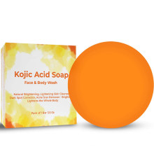Natural Brightening Skin Acne Scar Remover Kojic Acid Soap for Face & Body
