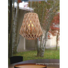 Decorative Indoor Simple Wooden Pendant Lamp