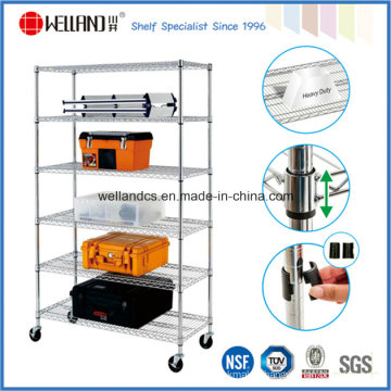 Metro Standard Chrome Metal Wire Shelving with NSF and SGS Approval