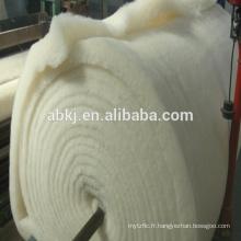 La meilleure qualité a lavé la natte de laine mérinos lavée / ouate pour le matelas / les textiles de maison