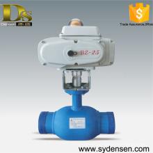 Gasoducto, uso, motorizado, esfera, válvula, dn50