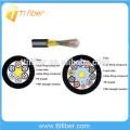 4-144 Cores Tube diélectrique Loose Tube à fibre optique non blindé GYFTY