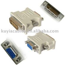 ADAPTADOR VGA A DVI / DVI-D MACHO A VGA ADAPTADOR CONVERTIDOR PARA HDTV LCD