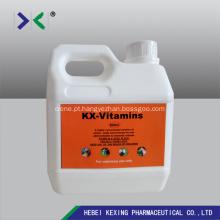 Vitaminas líquidas 50 ml de aves de capoeira