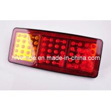 Янтарный / красный / красный светодиод Задний фонарь для грузовика