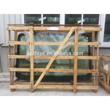 vidro de pára-brisa dianteiro de ônibus para kinglong XMQ 6800