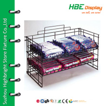 Accessories countertop chocolate wire display rack