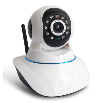 H.264 mini ip wifi camera baby monitor with night vision motion detection