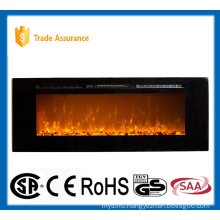 "60"" classic recessed/wall mounted electric fireplace heater"