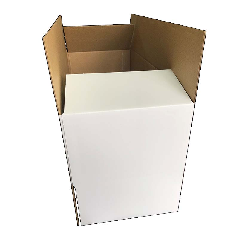 Single Pit White Cartons