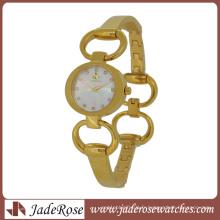 Simple mais vente chaude Bracelet Montre toute la montre en acier inoxydable