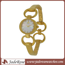 Simples, mas quente vender pulseira de relógio todos os relógio de aço inoxidável