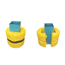 China Plastic Column Protector Guard For Storage Rack System/