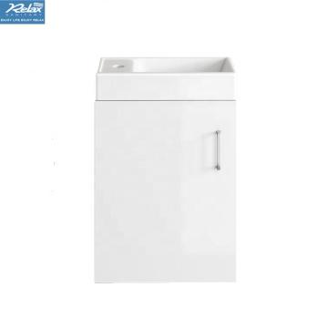Modern white facial cleansing hotel bathroom vanity