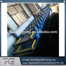 840/900 automática de doble capa de hierro corrugado de hierro del panel de frío rollo que forma la máquina en China