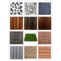 Automated Manufacturing Hot Selling DIY Artificial Grass Tiles/WPC tiles/Stone tiles