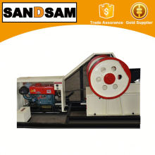 Portable Small Diesel Engine Jaw Crusher with CE Certificate