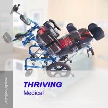 Fauteuil roulant inclinable Thr-Cw958L pour enfants atteints de paralysie cérébrale