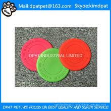Frisbee en silicone souple pour chien