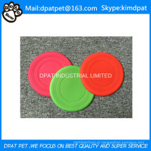 Grátis Pet Toys Soft Dog Silicone Frisbee