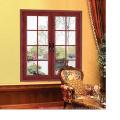 Feelingtop Casement Aluminum and Wood Environmentally Swing Window (FT-AW90)