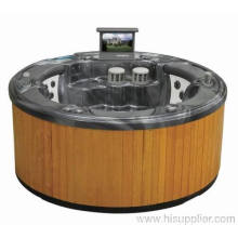 Outdoor Spas Round Hot Tubs For Outside Garden
