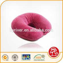 Aloe Vera Deluxe U Form Hotel Memory Foam Kissen