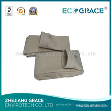 Bonne oxydent le sac de tissu de filtre à air de la résistance PE