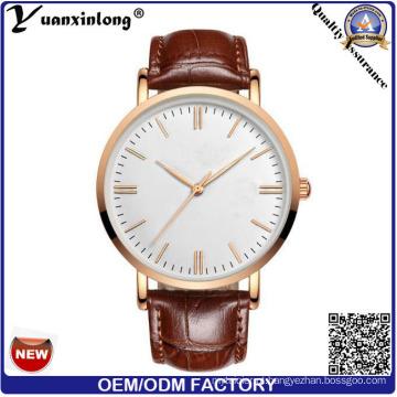 Mulheres de cinta de couro Real atacado de logotipo personalizado YXL-011 Watch, relógio Dw da venda quente