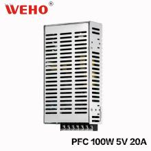 Фактор наивысшей мощности 100W 5V питания с функцией PFC