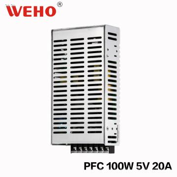 Fuente de alimentación del factor de energía 100W 5V con la función de Pfc