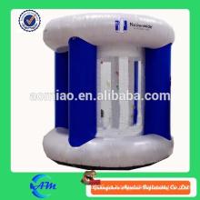 Máquina inflable del efectivo / cubo de dinero / juguete loco de la máquina inflable del dinero para la venta