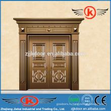 JK-C9022 красивая резьба по медной окантовке двери